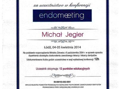 Dr Jegier certyfikat 10 - <span>dr n. med. Michał Jegier</span><br/>