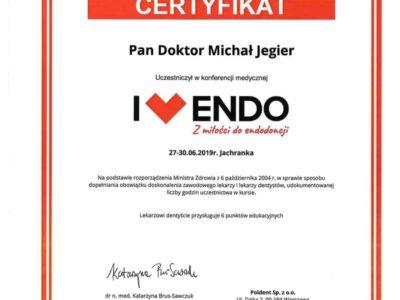 Dr Jegier certyfikat 5 - <span>dr n. med. Michał Jegier</span><br/>