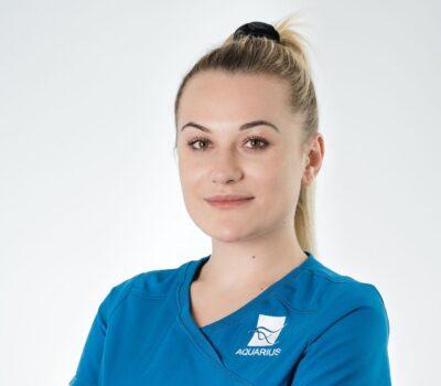 Justyna Chmielewska - Poznaj zespół Aquarius